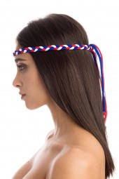 CROWN WHITE&RED&BLUE