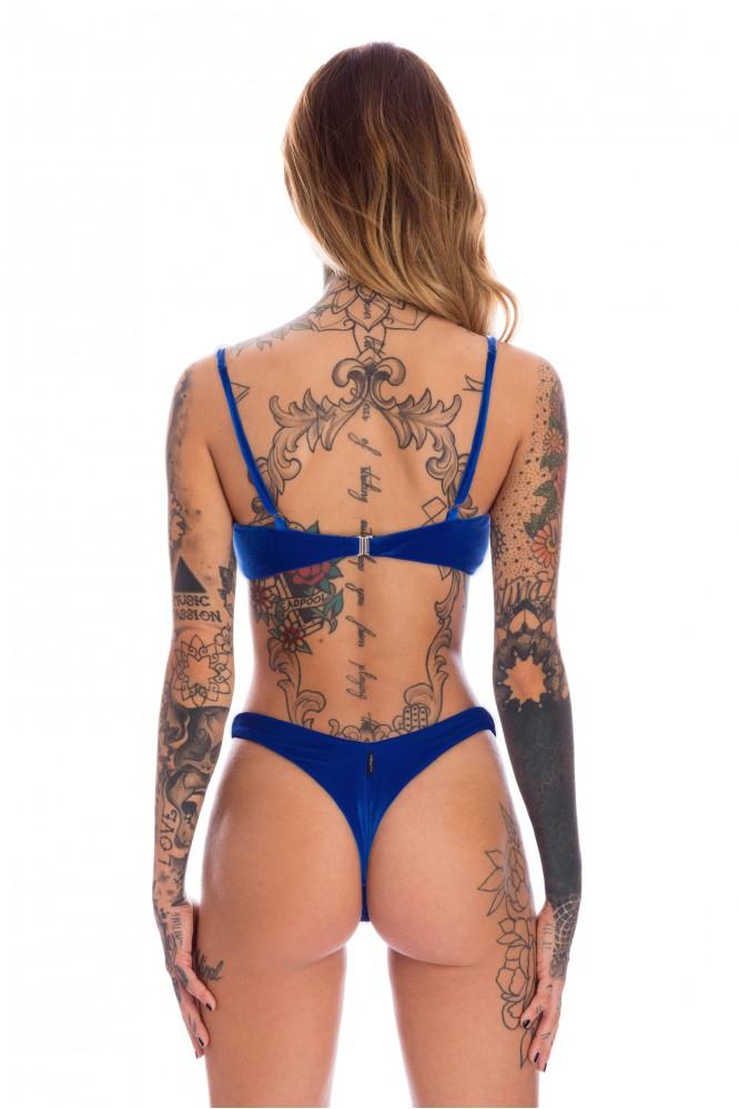 BOOMERANG VELVET BLUE